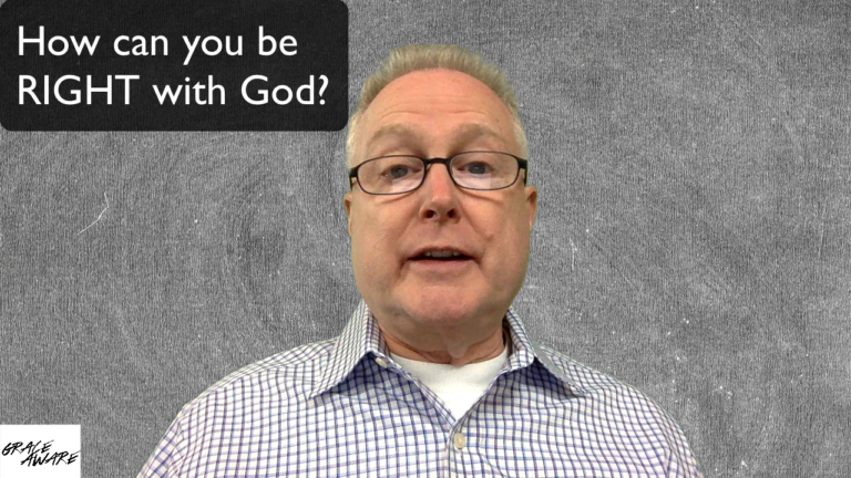 VBlog 015 – How can you be right with God?