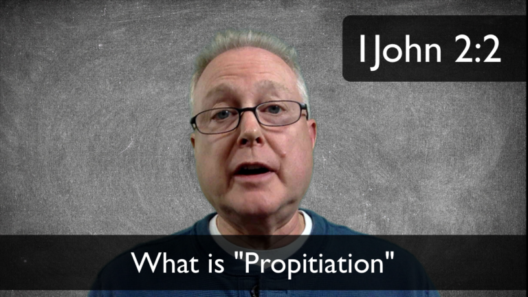 "VBlog 017 – What's a ""Propitiation?"""